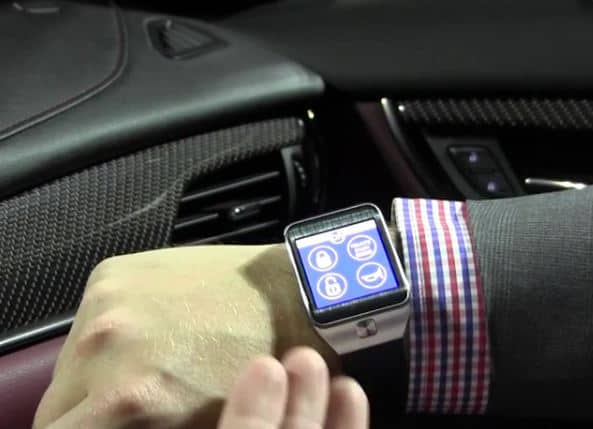 Galaxy Gear OnStar RemoteLink App Demo