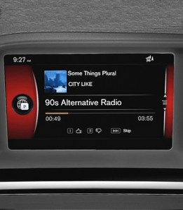 Volvo Sensus Connect Entertainment Pandora