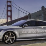 Audi self-driving car