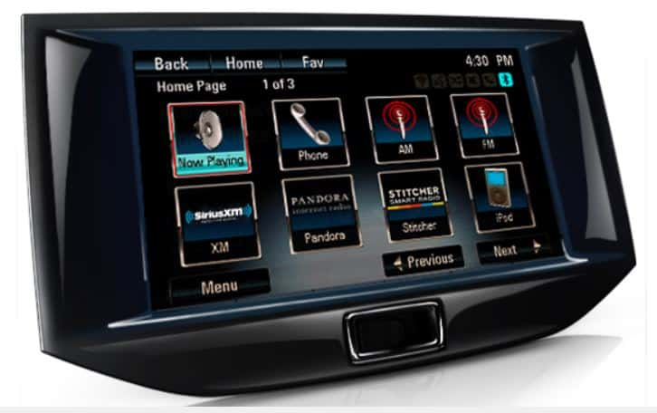 Chevy MyLink links with iOS 8