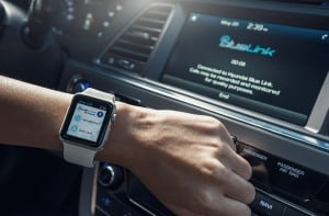 HYUNDAI LAUNCHES BLUE LINK APP FOR APPLE WATCH