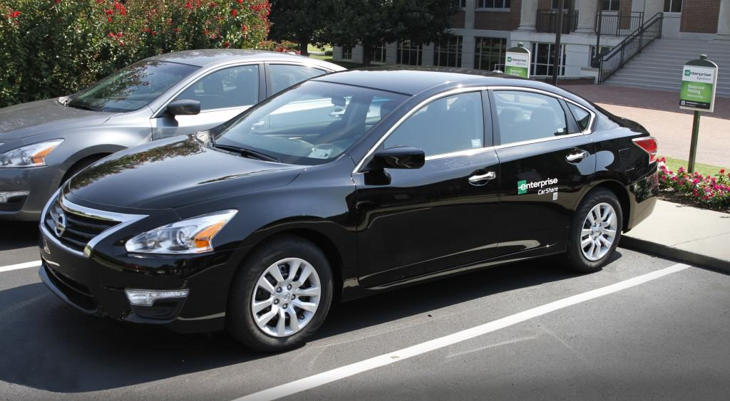 Enterprise CarShare and Nissan announced a multi-year partnership that supplies Enterprise CarShare fleets on nearly 90 university campuses exclusively with Nissan vehicles on Tuesday, Aug. 11, 2015.