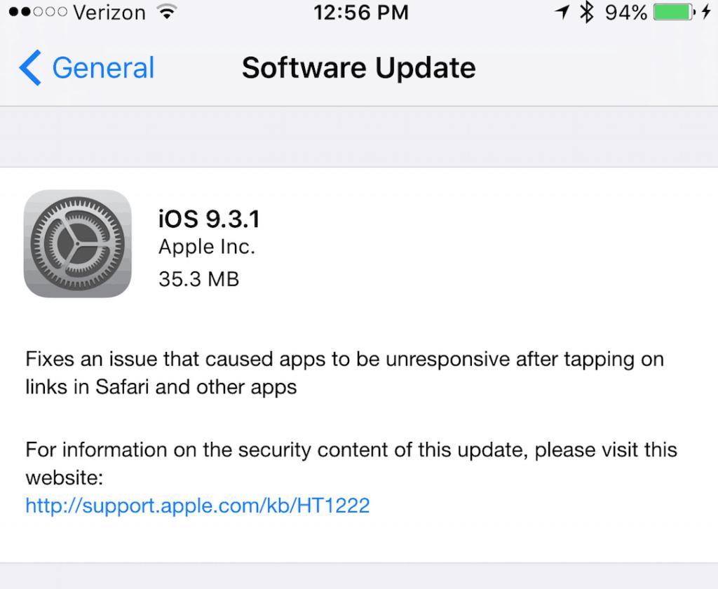 iOS-9.3.1
