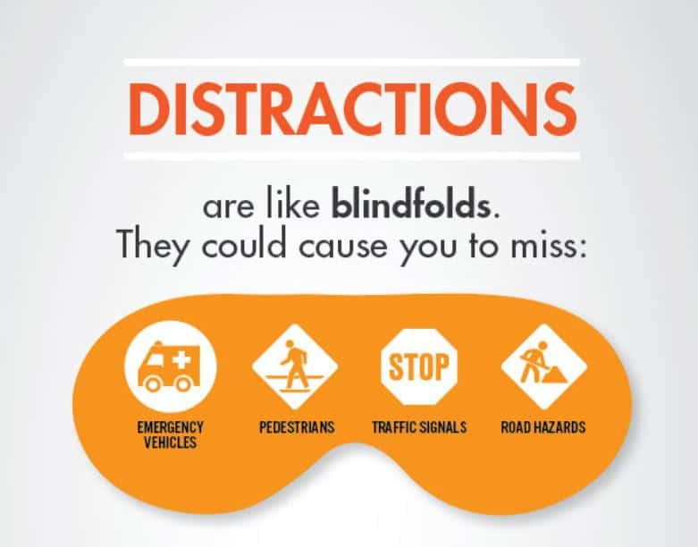 More Distracted Driver Awareness Month Facts Suggestions