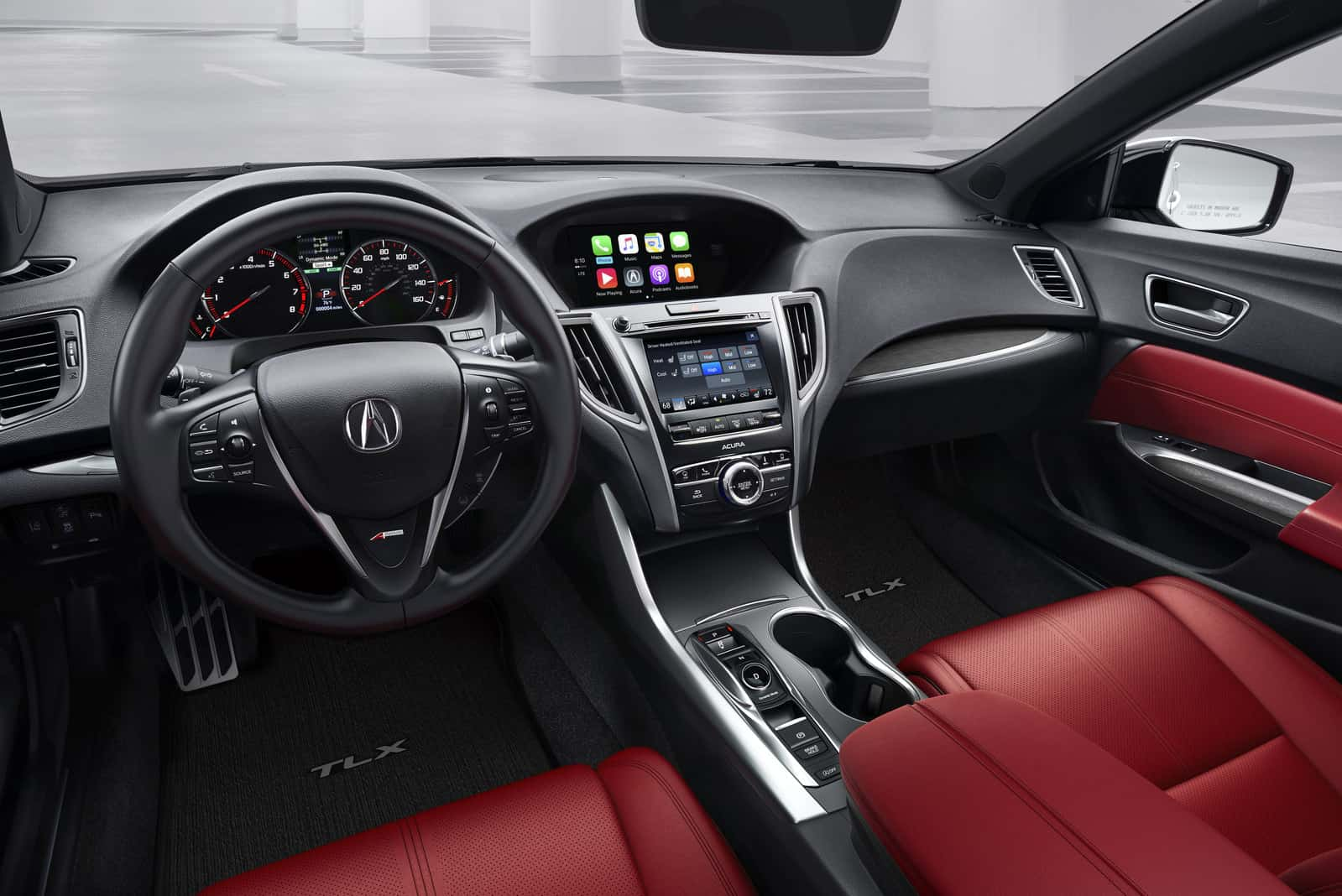 2018 Acura TLX Tech Advances Include Apple CarPlay, Android Auto and AcuraWatch | auto connected ...