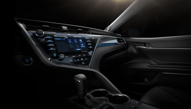 xevo powers entune 3 0 app suite in toyota camry auto connected car news. Black Bedroom Furniture Sets. Home Design Ideas