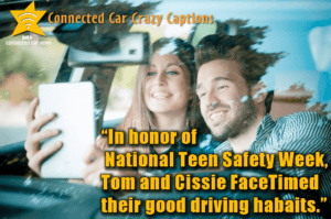Teen Safety in Connected Cars?