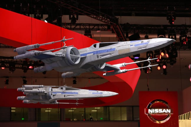 Starwars Nissan Rogue The Last Jedi Cars Laautoshow