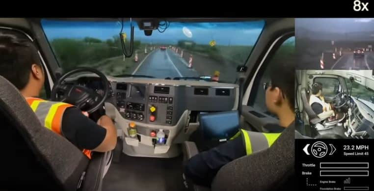 Usps Contract Self Driving Trucks From Tusimple For Test Auto